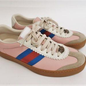 ucci JBG Retro Calf Sneaker Light Pink